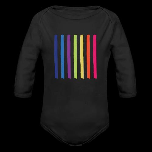 Lines - Organic Longsleeve Baby Bodysuit