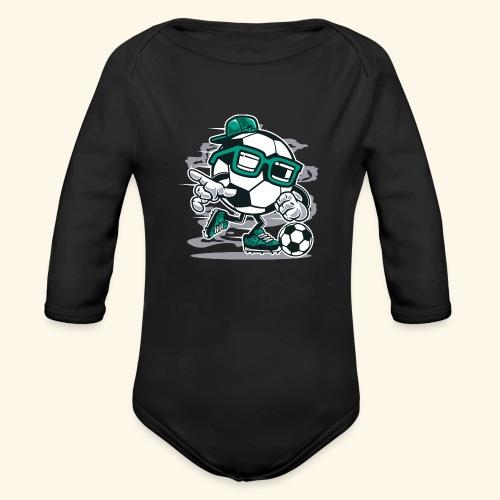 Street Soccer - Baby Bio-Langarm-Body