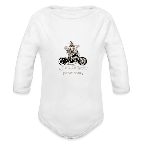 BIKE - Body ecologico per neonato a manica lunga