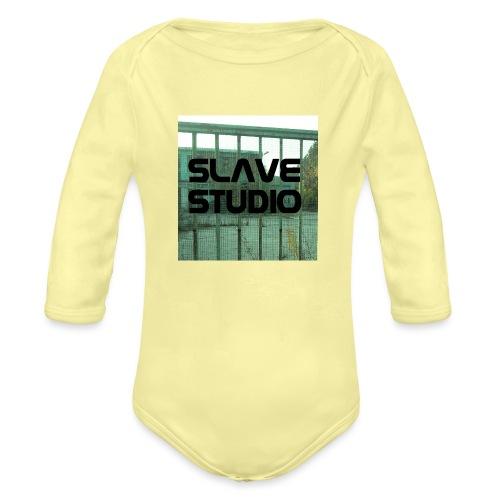 Logo_SLAVE_STUDIO_1518x1572 - Body ecologico per neonato a manica lunga