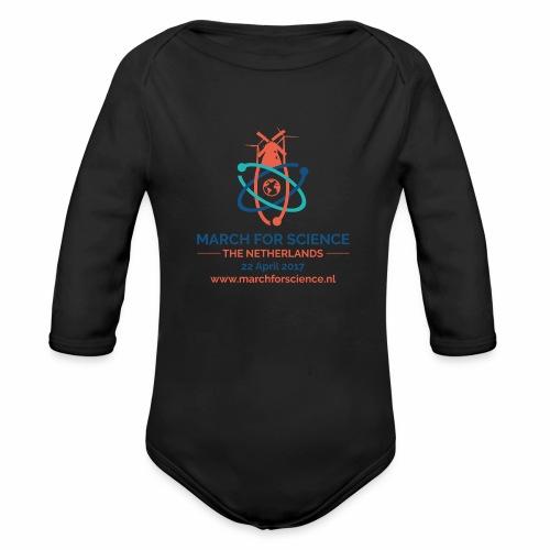 MfS-NL logo light background - Organic Longsleeve Baby Bodysuit