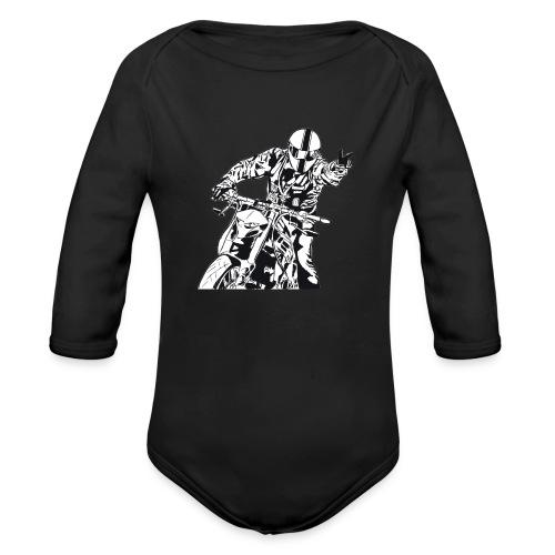 Streetfighter - Baby Bio-Langarm-Body