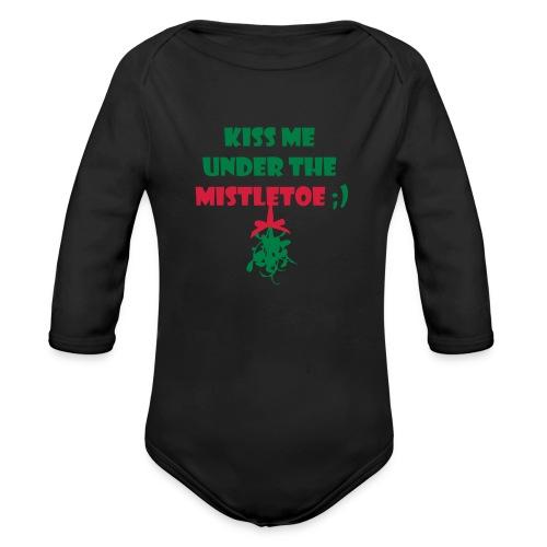 mistletoe - Baby Bio-Langarm-Body