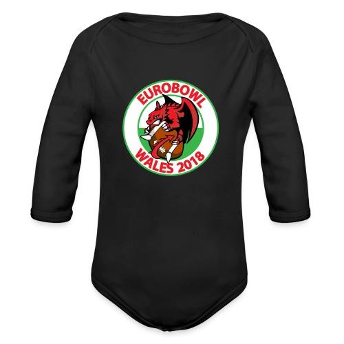 Eurobowl Wales 2018 - Organic Longsleeve Baby Bodysuit