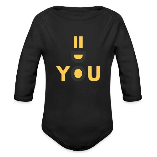 Do You Black by Dougsteins - Organic Longsleeve Baby Bodysuit
