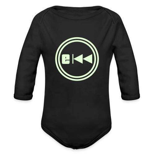 Evo-Kreis-E - Baby Bio-Langarm-Body