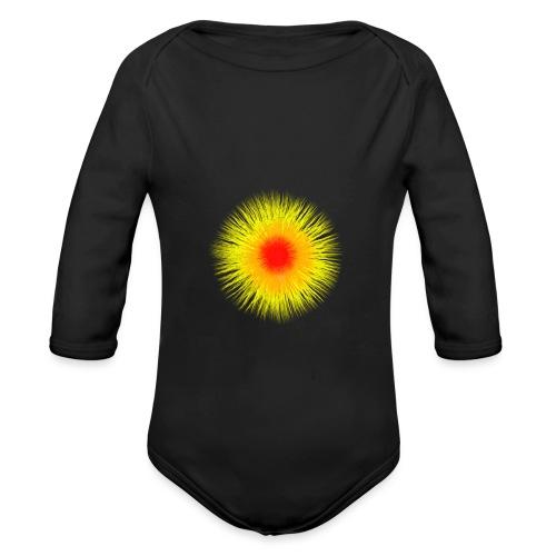 Sonne I - Baby Bio-Langarm-Body