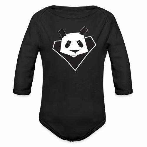super panda 2 png - Body Bébé bio manches longues