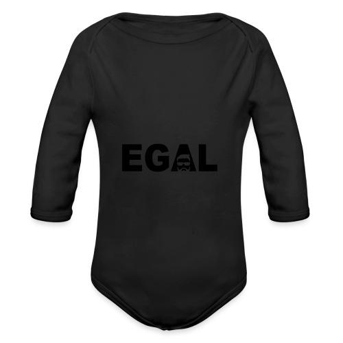 Egal Hipster - Baby Bio-Langarm-Body