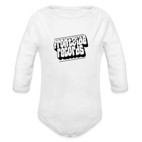 newfrontzidelogo - Langærmet babybody, økologisk bomuld