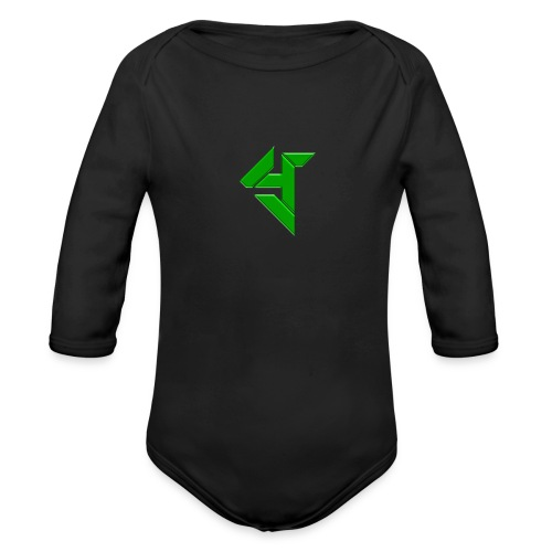 Y_logo - Organic Longsleeve Baby Bodysuit