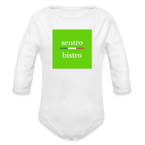 Sentro bistro - Body Bébé bio manches longues