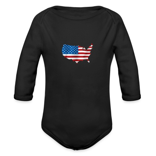 AMERICAN - Body Bébé bio manches longues