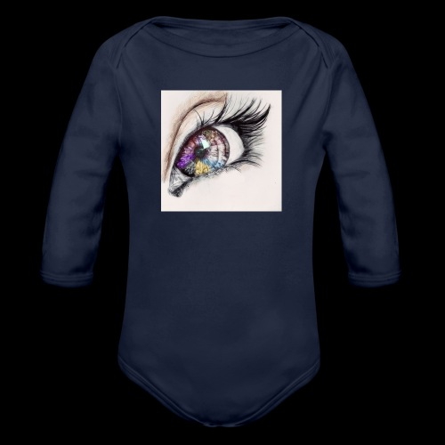 desenho design olhos eye Favim com 403064 - Baby bio-rompertje met lange mouwen