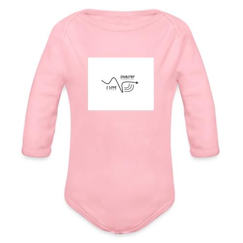 I_LOVE_DUBSTEP - Body orgánico de manga larga para bebé