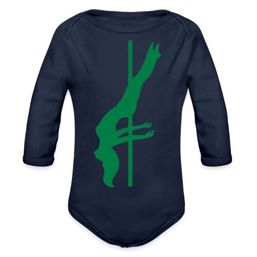 Pole Dance - Body ecologico per neonato a manica lunga