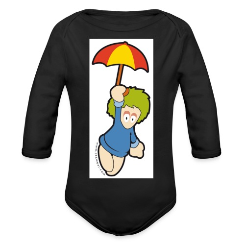 lemming parapluie - Body Bébé bio manches longues