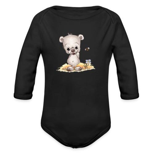 Noah der kleine Bär - Baby Bio-Langarm-Body