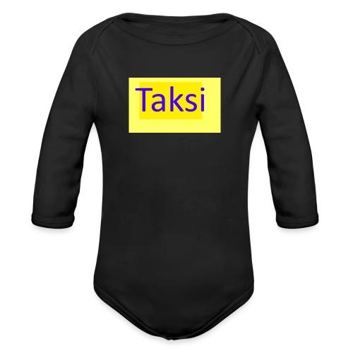 Taksi - Vauvan pitkähihainen luomu-body