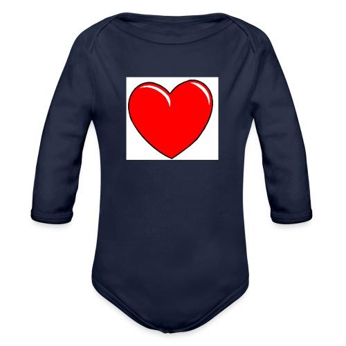 Love shirts - Baby bio-rompertje met lange mouwen