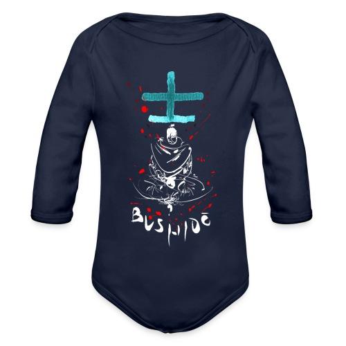 Bushido - Der Weg des Kriegers - Organic Longsleeve Baby Bodysuit