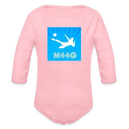 M44G clothing line - Organic Longsleeve Baby Bodysuit