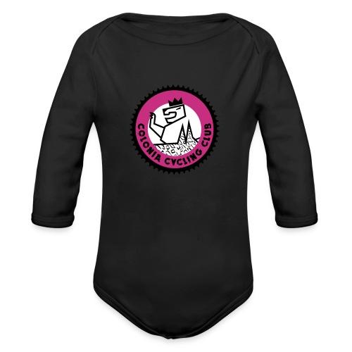 CCC Logo 3farbe - Baby Bio-Langarm-Body