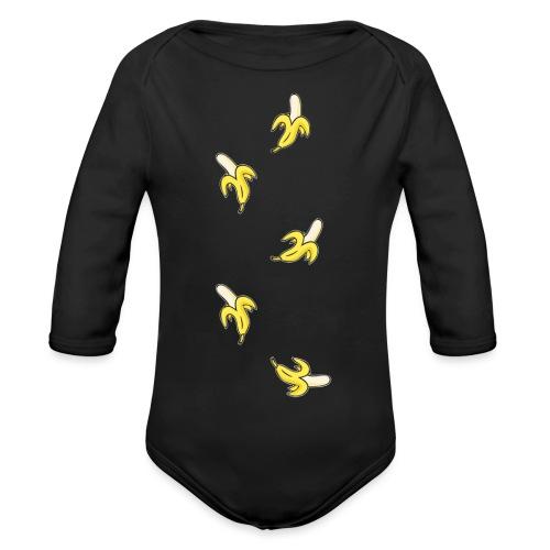 bananas - Organic Longsleeve Baby Bodysuit