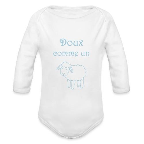 doux-comme-un-agneau-2 - Body Bébé bio manches longues