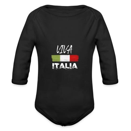 VIVA ITALIA - Organic Longsleeve Baby Bodysuit