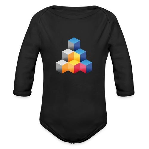 MIT_Logo - Baby Bio-Langarm-Body