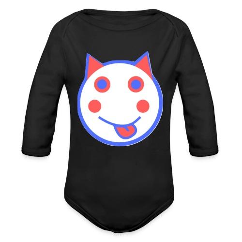 Alf Cat RWB | Alf Da Cat - Organic Longsleeve Baby Bodysuit