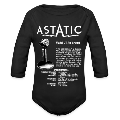 Astatic JT-30 Specs - Organic Longsleeve Baby Bodysuit