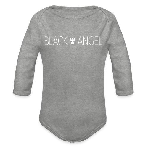 BLACK ANGEL - Body Bébé bio manches longues