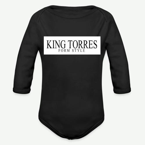 king torres - Body orgánico de manga larga para bebé