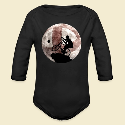 Radball | Cycle Ball Moon - Baby Bio-Langarm-Body