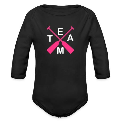 Drachenboot Team 2c - Baby Bio-Langarm-Body