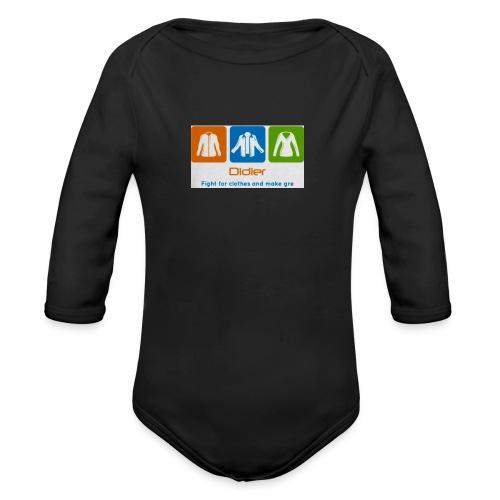 IMG 3596 - Langærmet babybody, økologisk bomuld