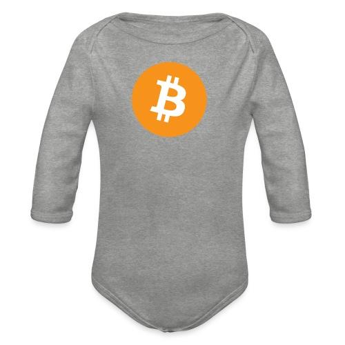 Bitcoin - Organic Longsleeve Baby Bodysuit