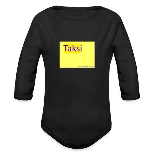 taksifoorumi - Vauvan pitkähihainen luomu-body