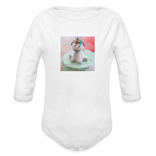 licorne magique - Body Bébé bio manches longues