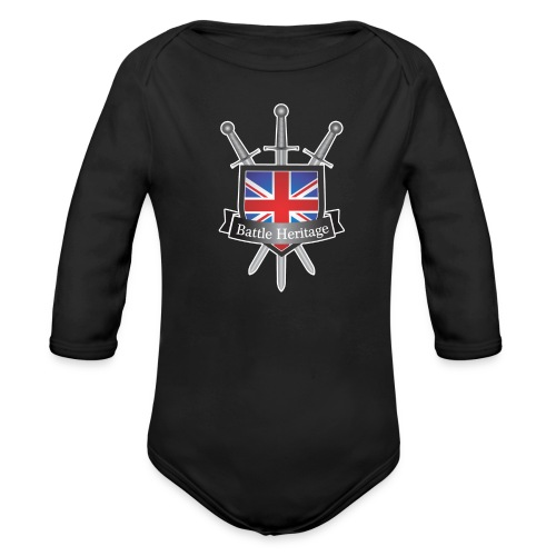 BH_TransparentBackground - Organic Longsleeve Baby Bodysuit