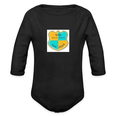 STG Vienna Kickers Logo - Baby Bio-Langarm-Body