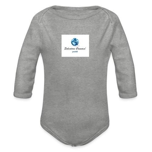 logo youtube - Body ecologico per neonato a manica lunga