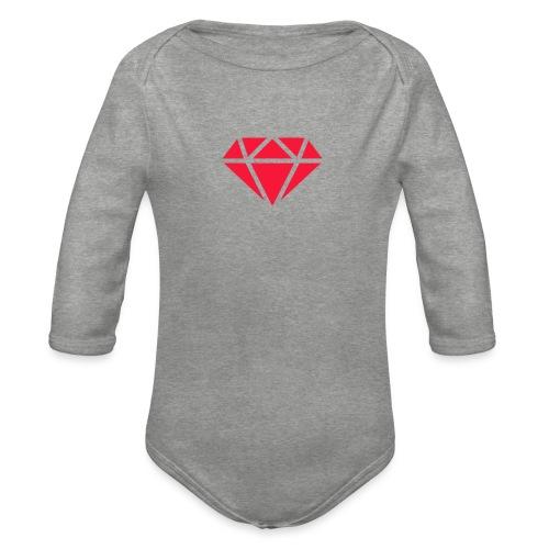 Logomakr_29f0r5 - Organic Longsleeve Baby Bodysuit