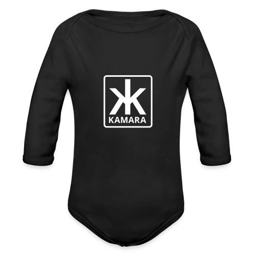 Kamara-logo-2016 - Organic Longsleeve Baby Bodysuit