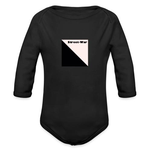 Street-War - Organic Longsleeve Baby Bodysuit