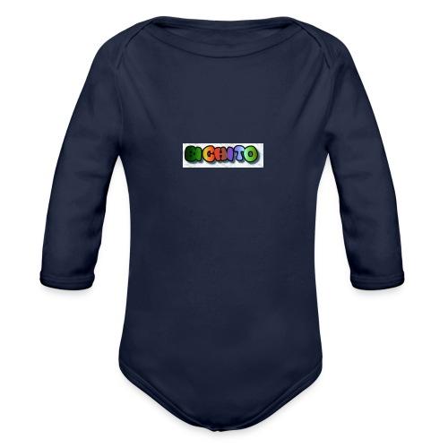 cooltext206752207876282 - Body orgánico de manga larga para bebé