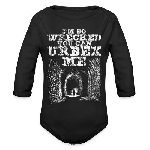 Urbex Me - Body Bébé bio manches longues