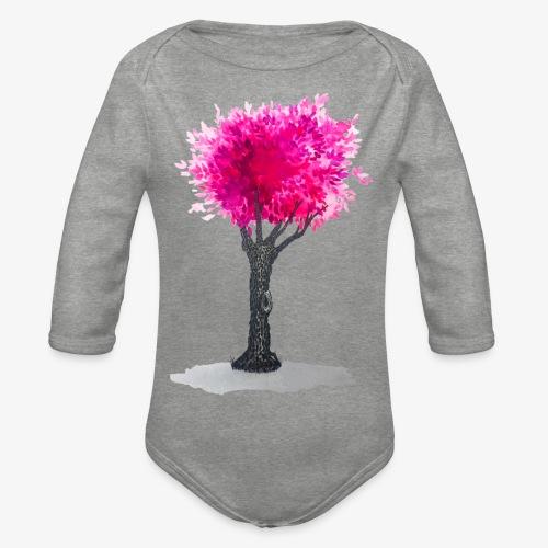 Tree - Organic Longsleeve Baby Bodysuit
